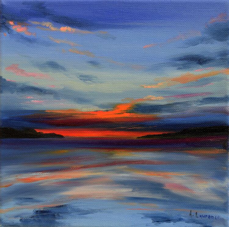 Evening Reflections Mossyard