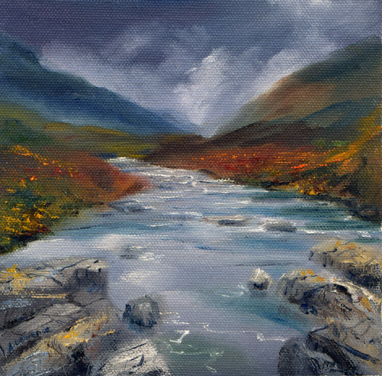The Weeping River of Glencoe