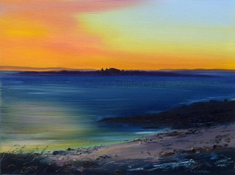 Fleet Isles at Sundown