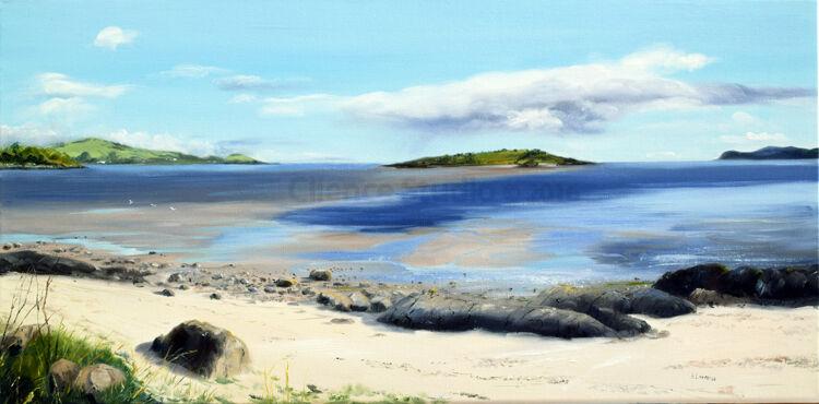 Towards Rough Island, Low tide Kippford