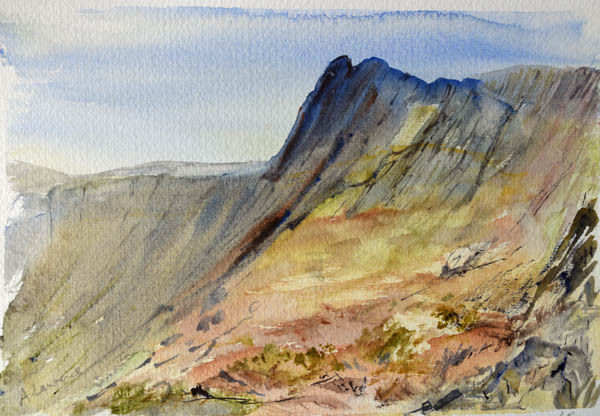 Pike O Stickle by Loft Crag