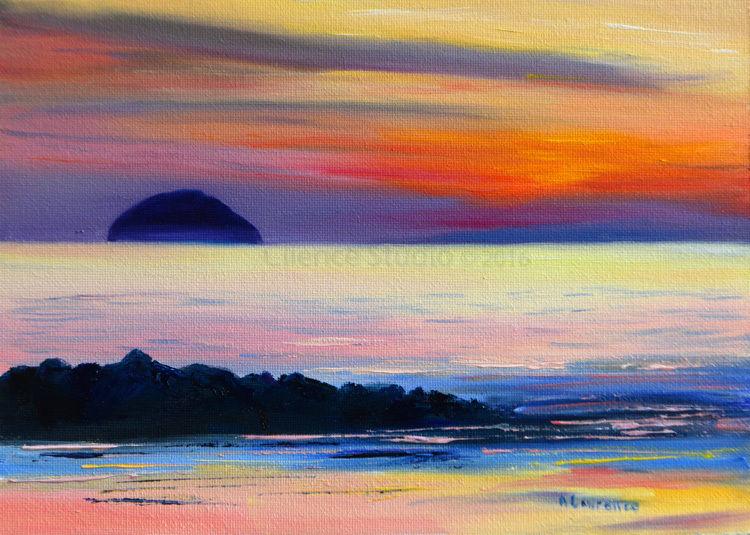 Ailsa Craig, Glowing Sea