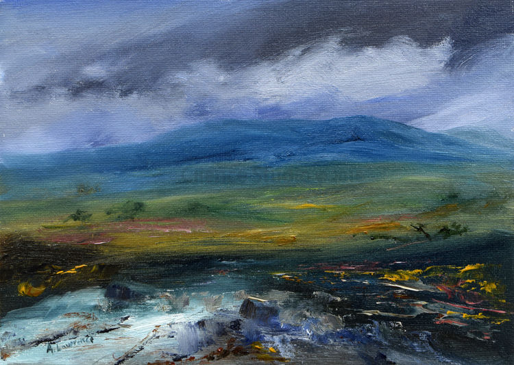 Cairnsmore of Fleet, Swept by Cloud