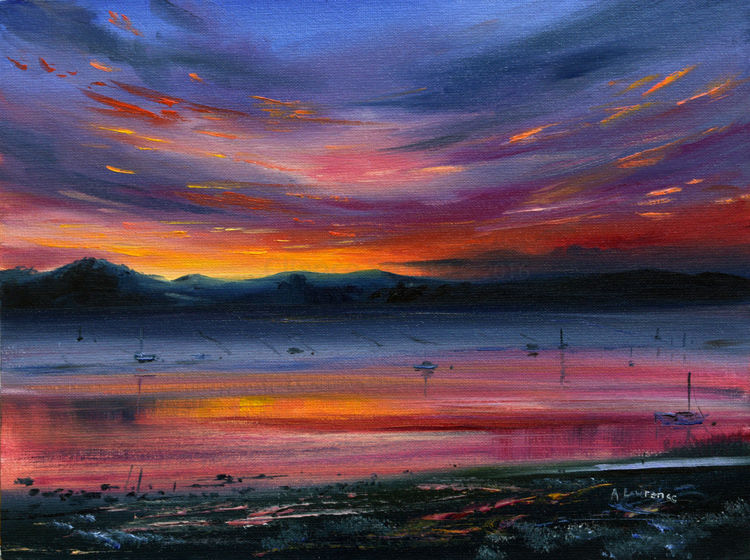 Colours at Sunset, Kippford