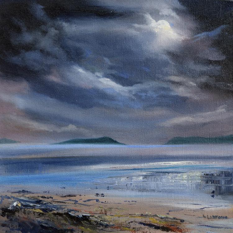 Moonlit Sea Kippford