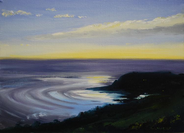 Portling evening light