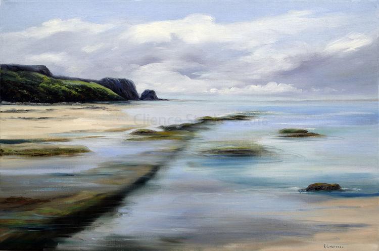 Flowing Tides Gullane bay