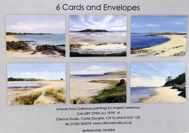 Seascape Greetings Card Pack