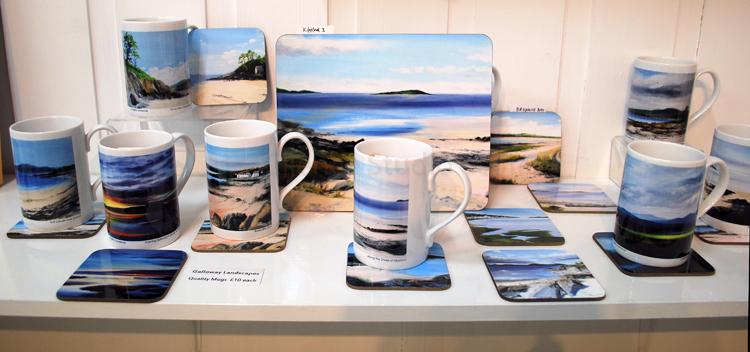Mugs and Coaster selection