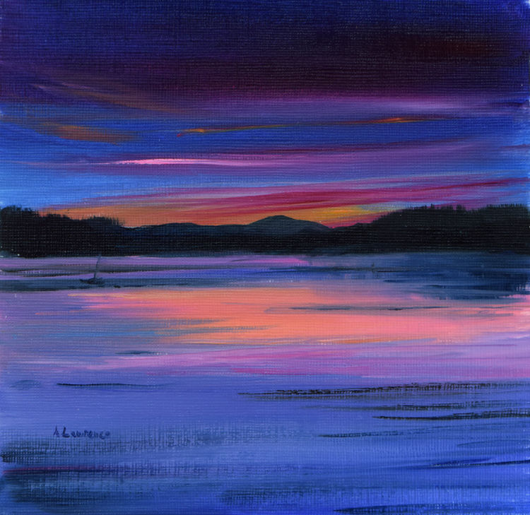 Sundown, Loch Ken