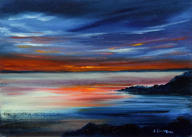 Sunset Glow at Mossyard