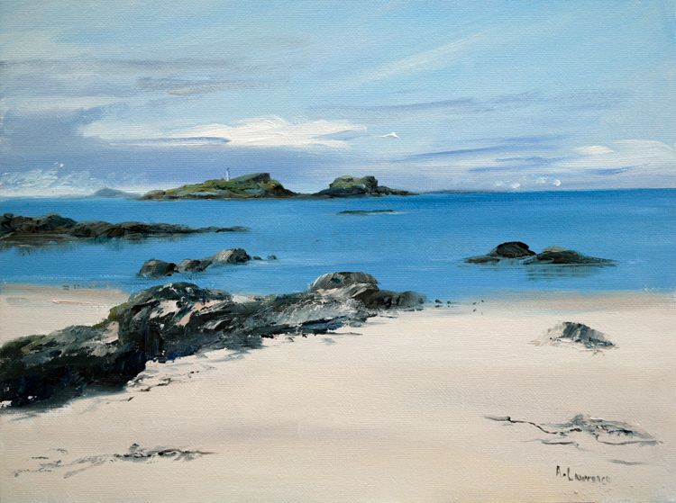 Treasured Island Fidra  from Yellowcraigs