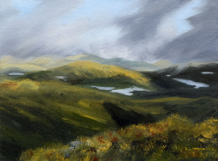 Passing Clouds, Galloway Hills