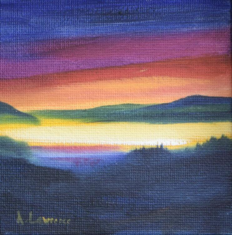 Sunset Glow Loch Doon