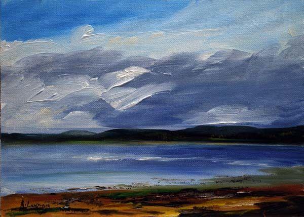 Blustery day Kirkcudbright