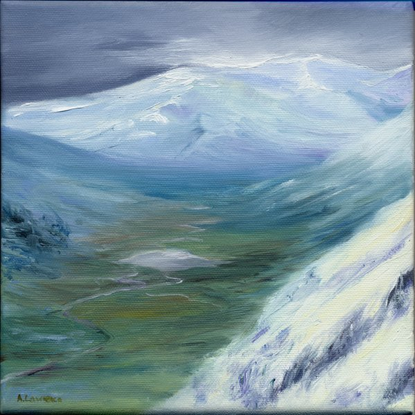 Glencoe, winter