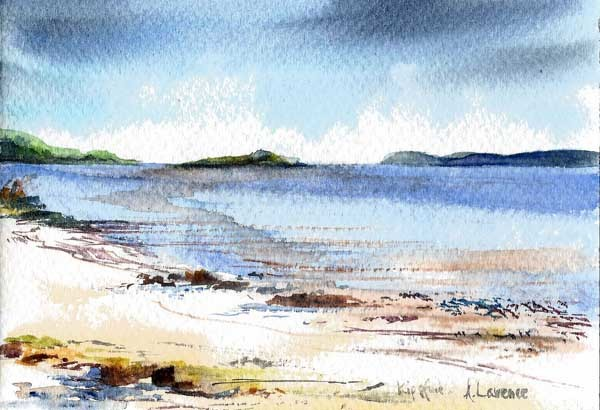 Kippford shell beach