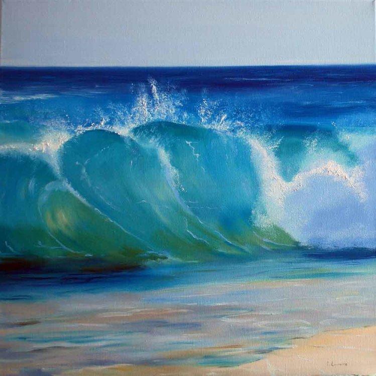 Shimmering Wave