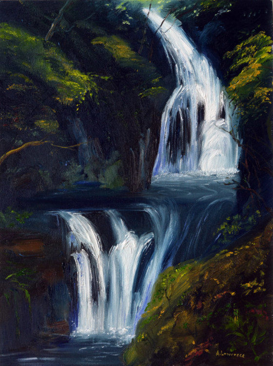 Silvery Light, Buchan Waterfall