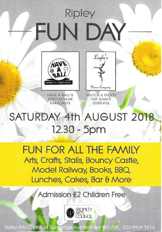 Ripley 2018 Fun Day Flyer Front