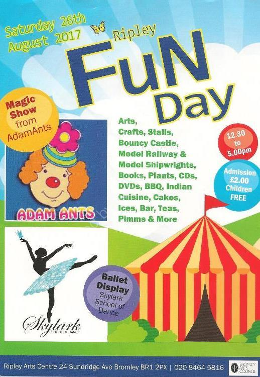 Ripley Fun Day Flyer Front