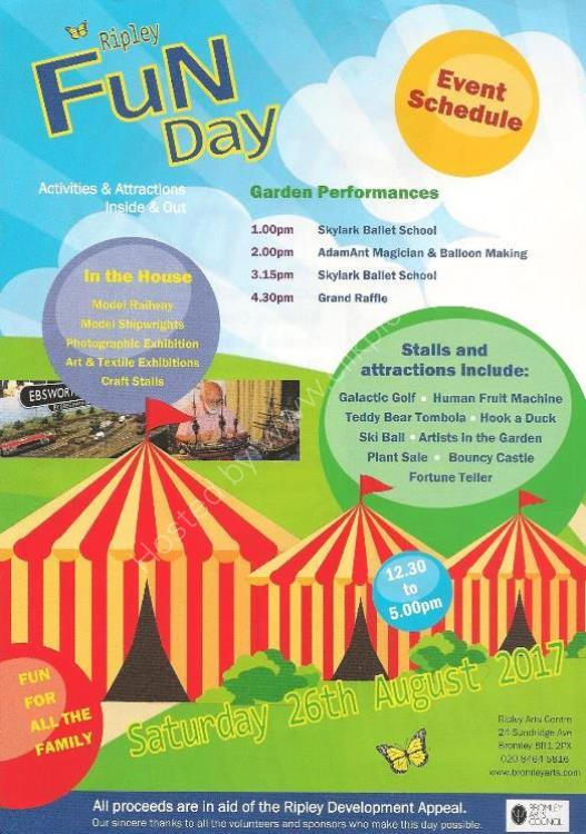 Ripley 2017 Fun Day Flyer Rear