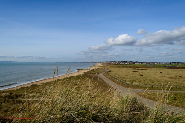 Hengistbury Head View.