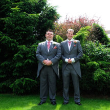 Best Man & Groom