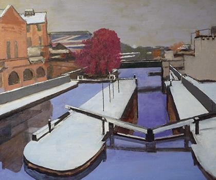 189-Camden Lock under-snow.jpg