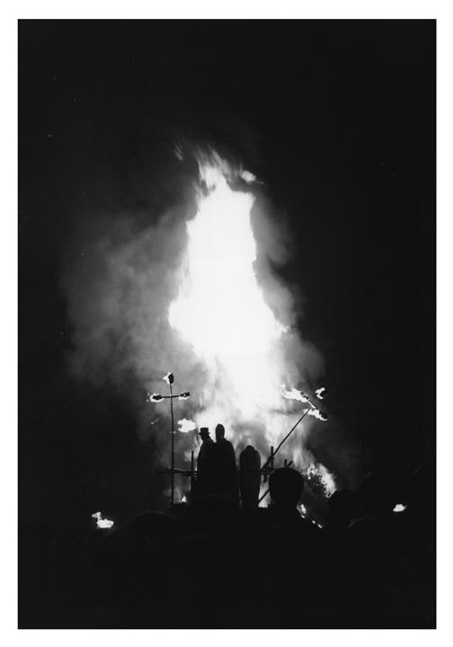 Angel of the bonfire