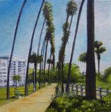 Pacific Palisades Park, Santa Monica. LA County CA