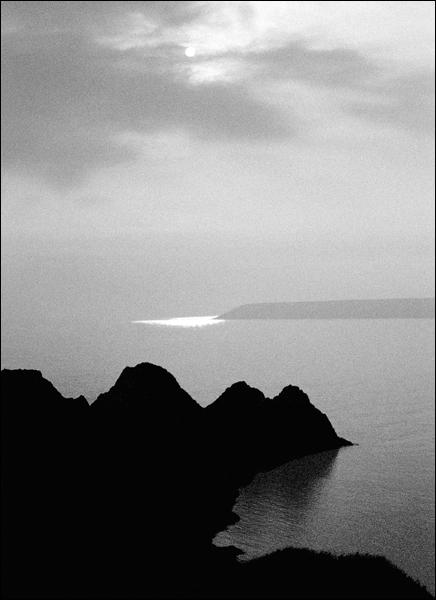 Three Cliffs. Gower