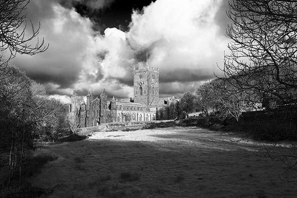 St Davids Cathedral, Pembrokshire.
