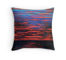 Indian Ocean Sunset 1 cushion