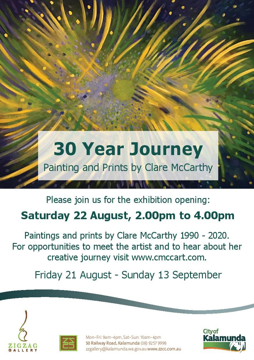 Thirty Year Journey exhibition