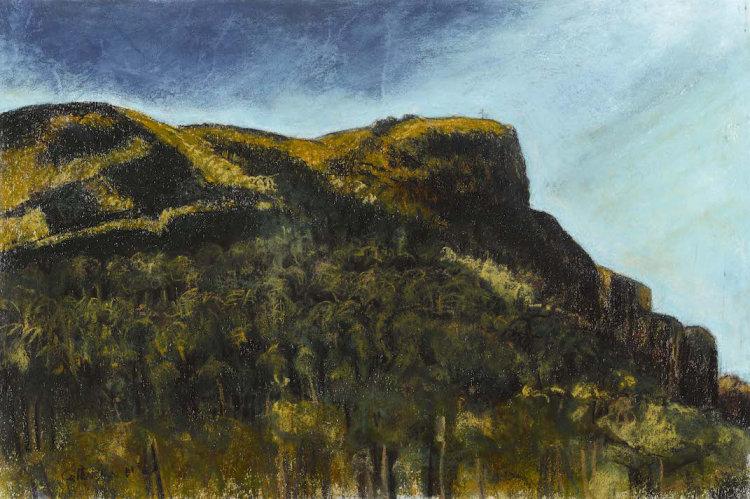 """Autumn II"", pastel on paper, 36 x 54cm"