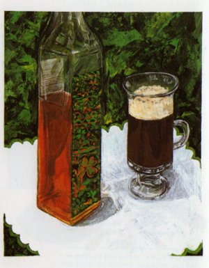 Irish Coffee, from A Little Coffee Cookbook
