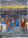 """Marshalls Shop, Donegall St. Belfast"" Screen Print"