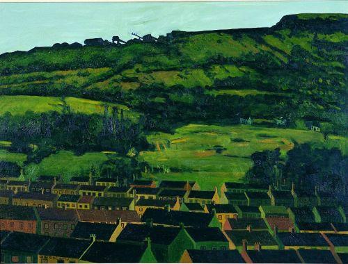 Black Mountain, Lenadoon, oil on canvas, 92 x 127cms