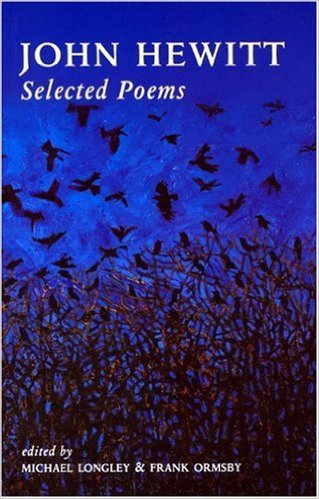 "Book Cover for ""John Hewitt, Selected Poems, edited Michael Longley and Frank Ormsby"""
