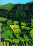 Lurig Landscape, oil on board, 71 x 53cms
