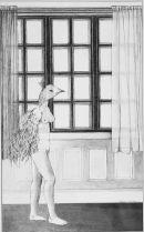"1979 ""Nude with birds head"""