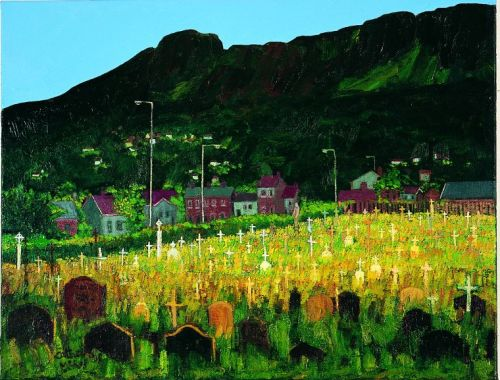 """Our Lady's Acre"", oil on canvas, 2004"