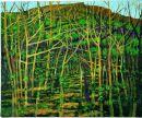 """Winter Trees, Cave Hill"" oil on canvas, 2004"