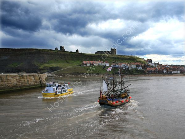 Pleasure Boats Whitby Harbour