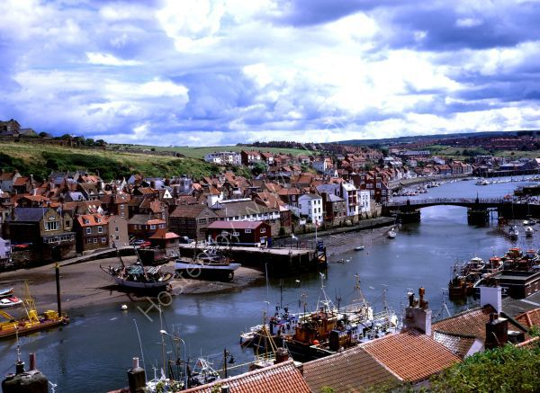 Whitby Harbour in Glorious Colour
