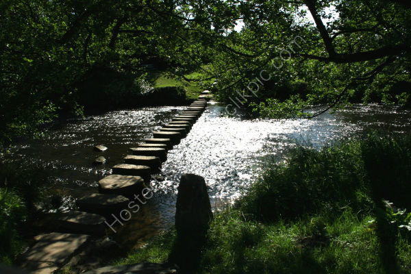 Stepping Stones over the Esk