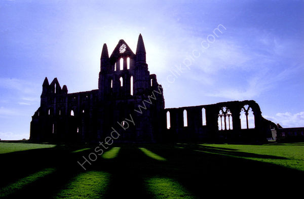 Shadows of Whitby Abbey