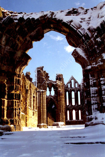 Whitby Abbey, Gothic Archway.