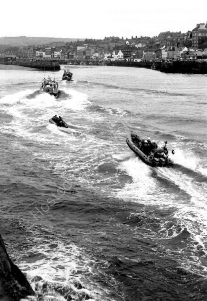 Lifeboats in Convoy